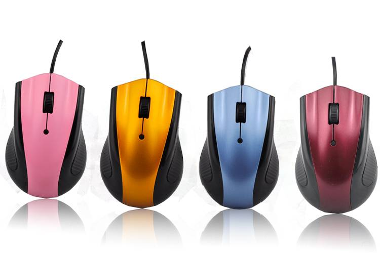 3D wired optical mice