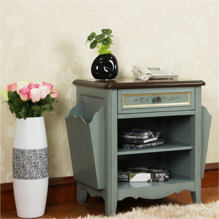 elegant hand painted furniture bedroom side cabinet
