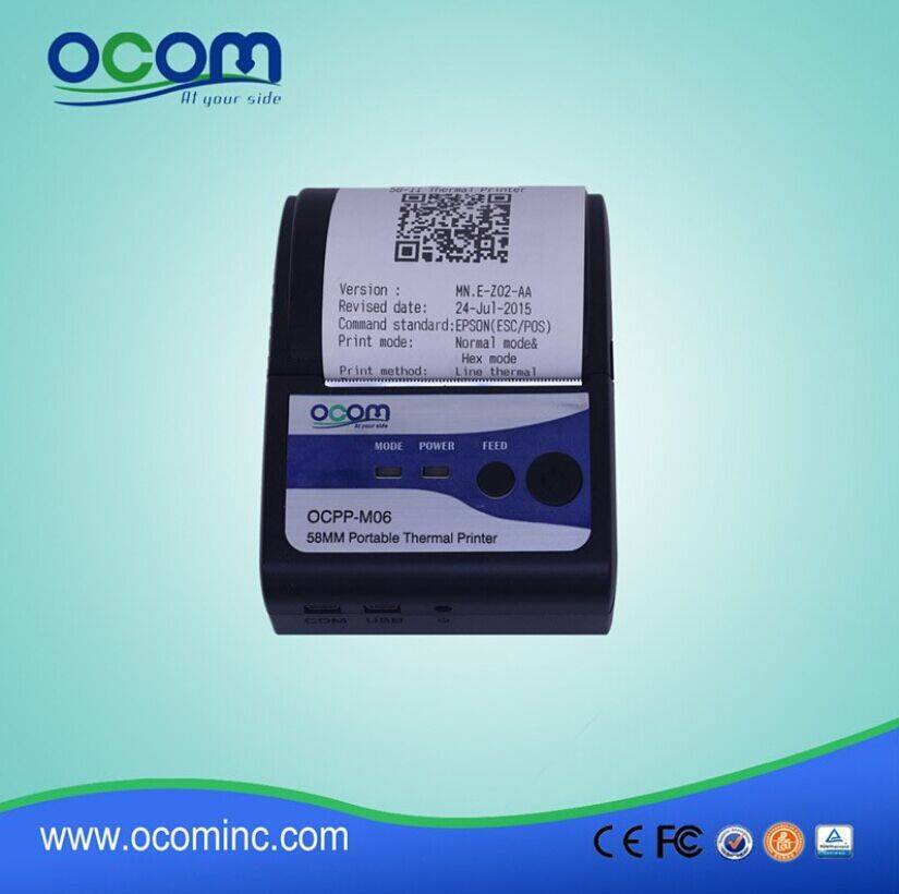 Mini Android USB Bluetooth Thermal Printer OCPP-M06