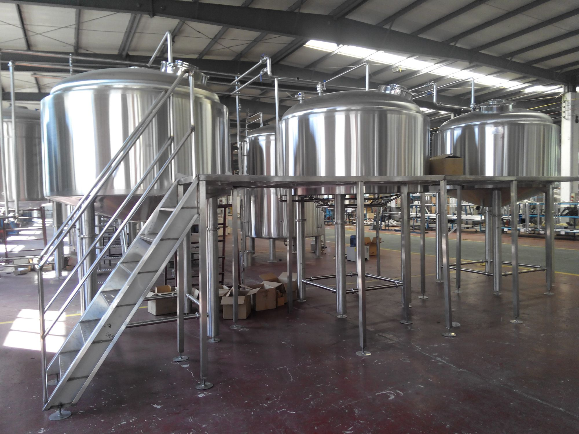 2000L Fermenter Equipment