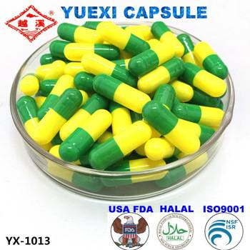 2016 hot sale! empty gel capsule size 1