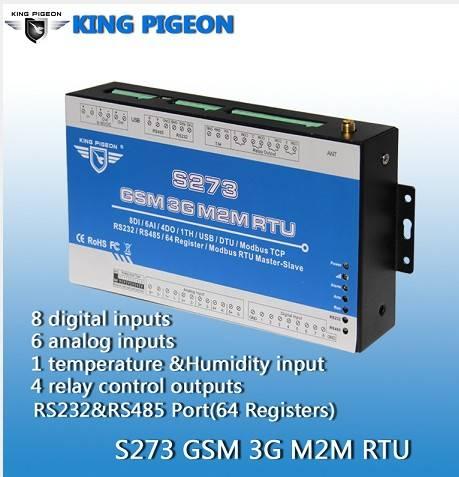 GPRS SMS to Modbus RTU S273