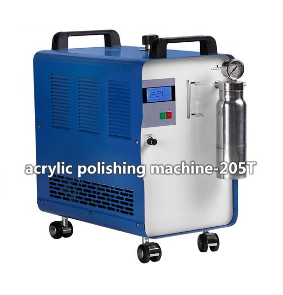 acrylic polishing machine-two operators work simultaneously