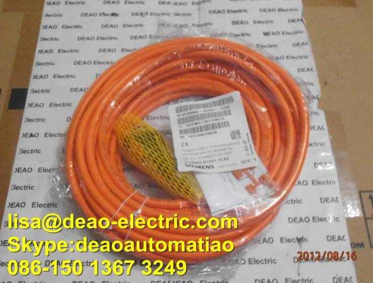 6FX8002-5CS01-1CA0 siemens Servo motor cable Power cable