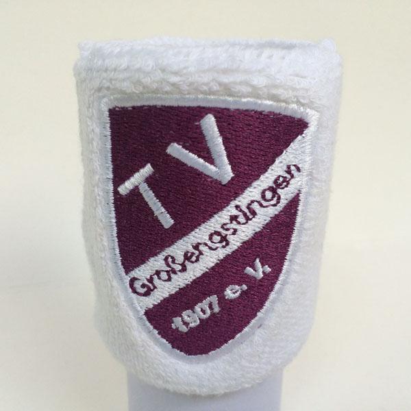 Custom logo sweatband