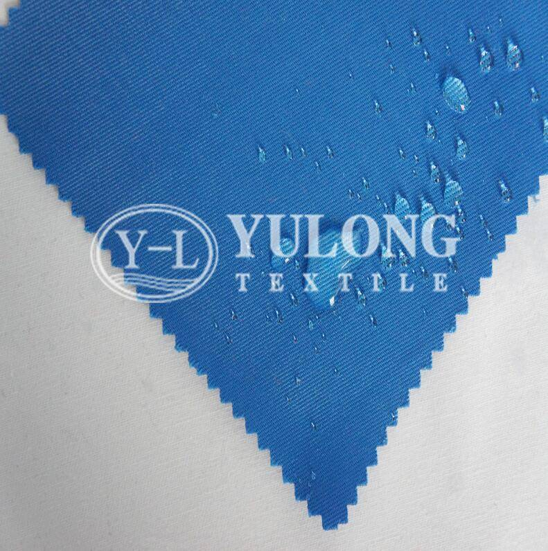 Cotton nylon water resistant & fire resistant fabric