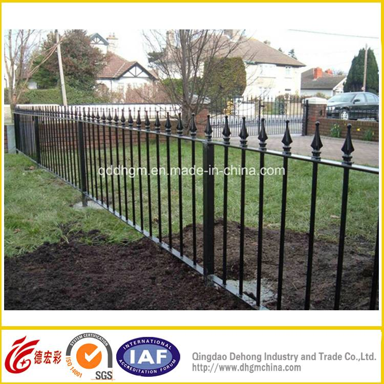 Decorative Residential/Commerical High Quality Wrought Iron Fencing