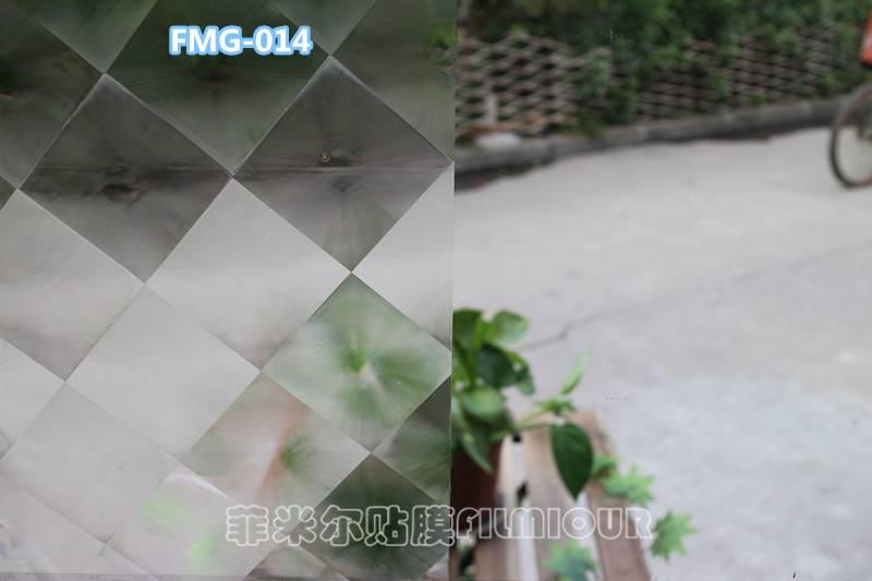 Window Decorative film FMG-014(no glue, static cling)