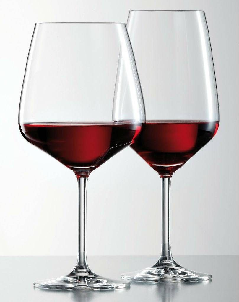 Factory supply high-end handmade clear red wine glass