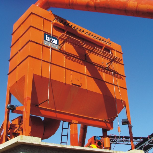 Granite portable cyclone dust collector for sand making line