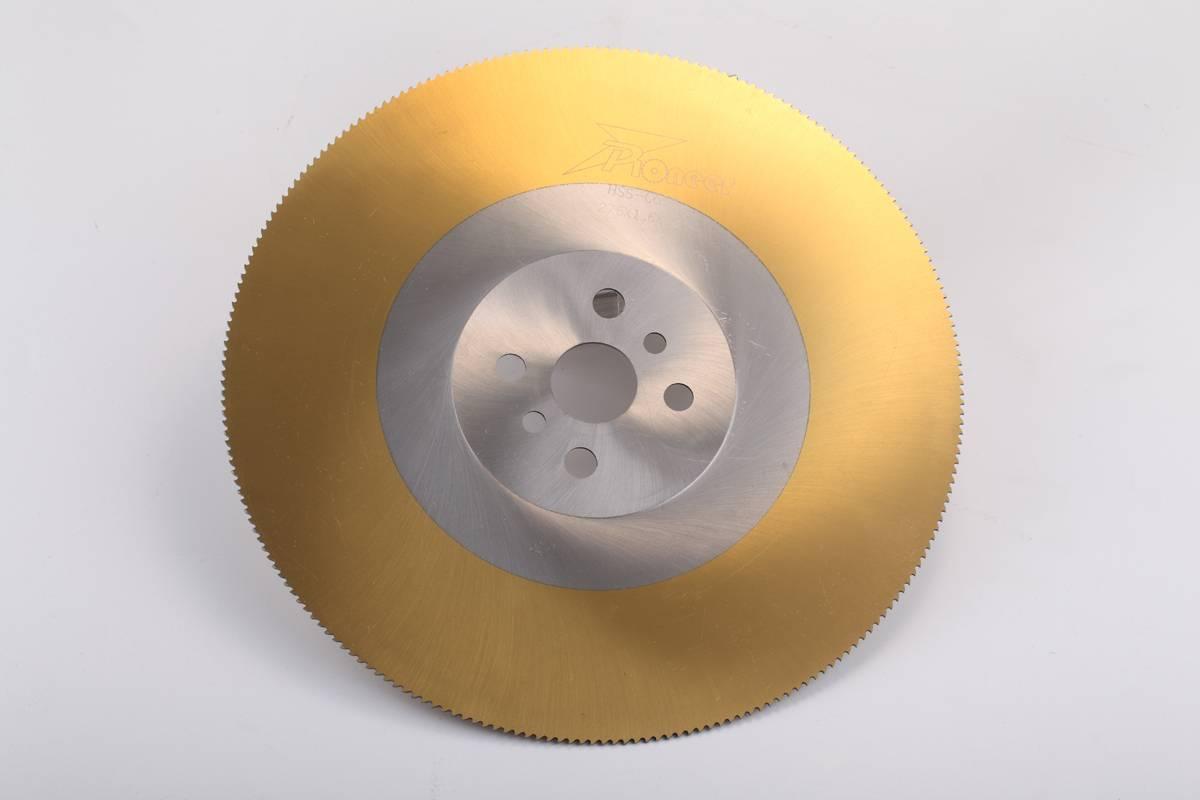 TiN coating saw blade
