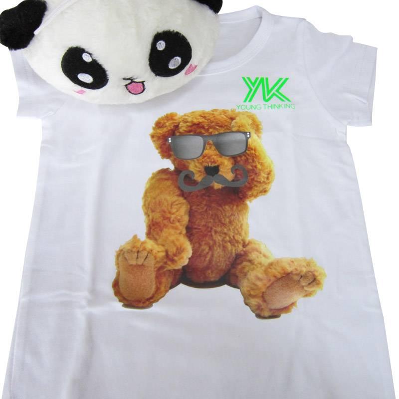 Heat transfer print for kid's wear