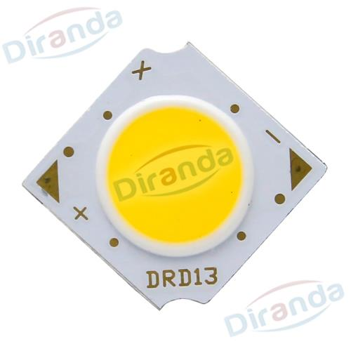powerful 3W-15w led round cob chip for lamps light