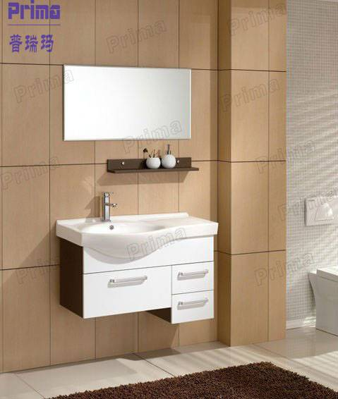 Modular modern high gloss / UV / Acrylic bathroom vanity