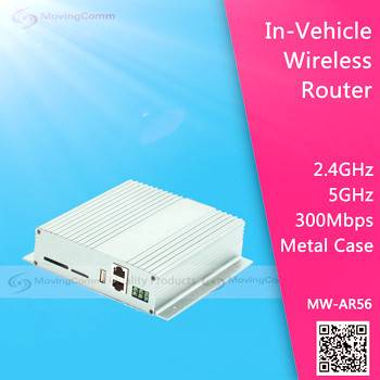 Industrial Grade Dual Band vehicle Wireless Router