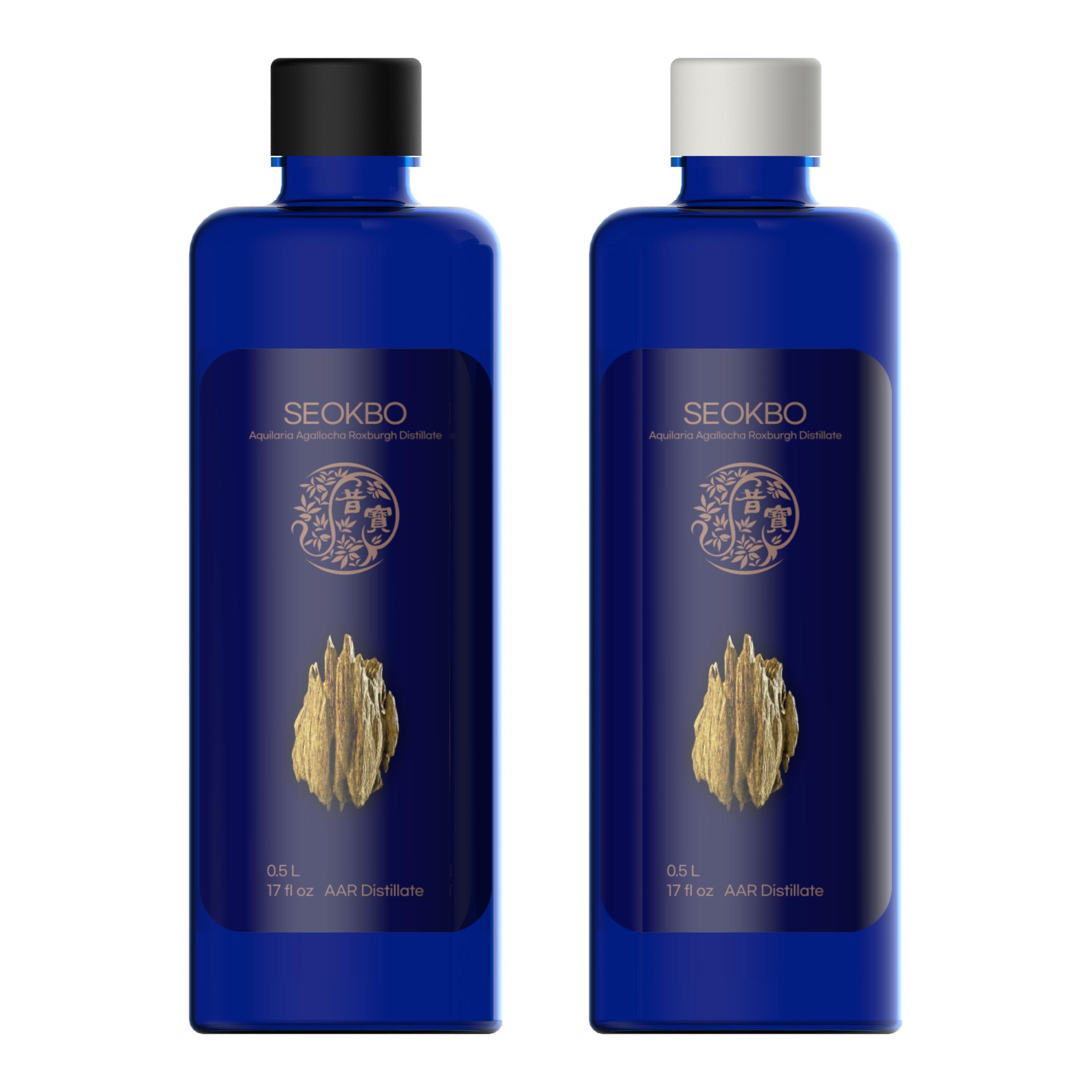 500ml, 100% Pure Natural 'Seokbo's Aquilaria Agallocha Roxbourgh (Agarwood) Distilled Water'