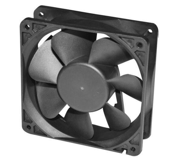 120*120*38mm Customized DC Axial Fan FDB1238-F 12/24/48V Two ball Bearing Cooling Fan