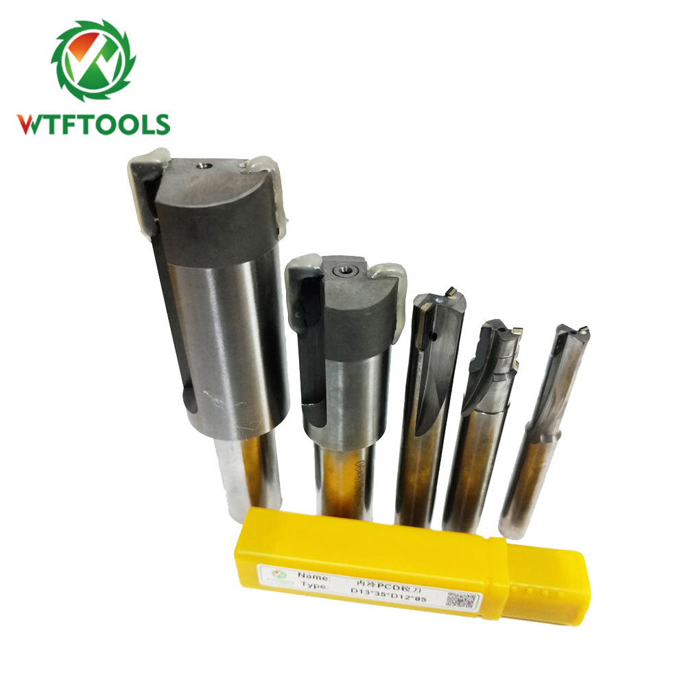 WTFTOOLS Wholesale Polycrystalline Diamond PCD Tools Drill Bits for Metal CNC Cutting