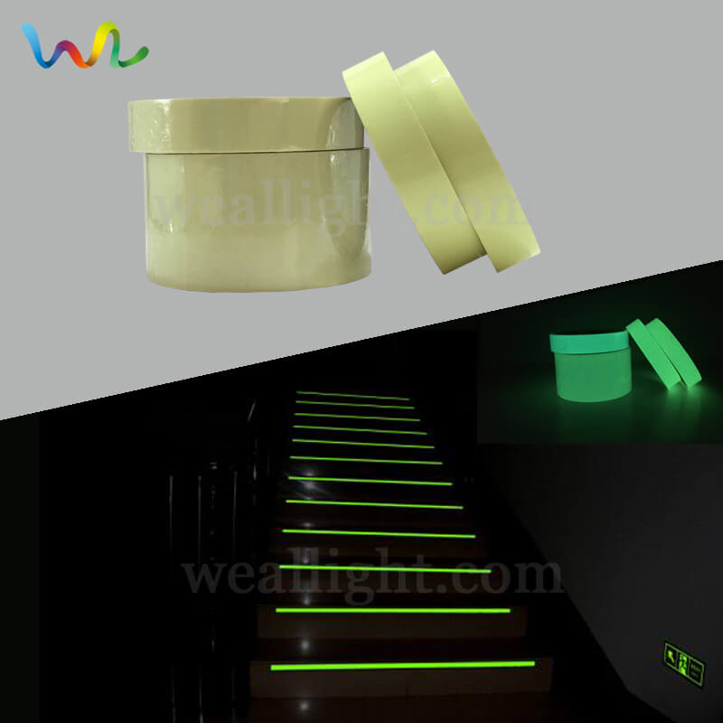 Photoluminescent Tape, Glow In The Dark Vinyl Roll, Glow Tape