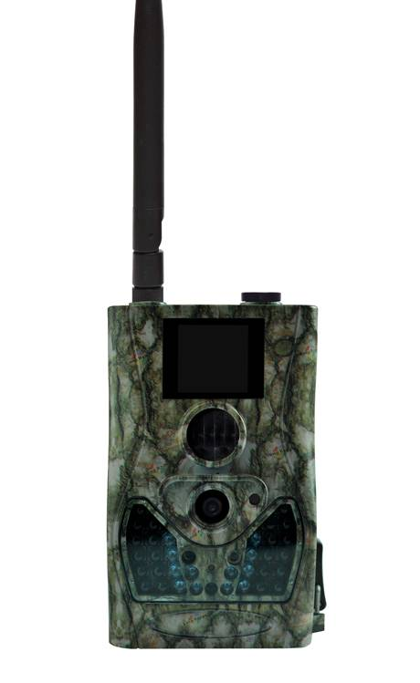 8MP 720P HD Wireless Hunting Trail Game Scouting Camera with MMS/GPRS