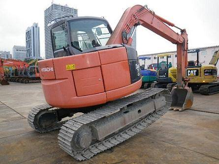 Used Hitachi ZAX75 Excavator