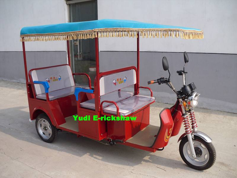 Electric tricycle/electric rickshaw/three wheelers for passengers 13066