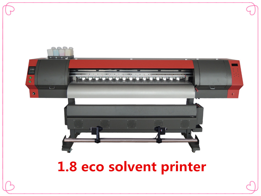 1.9m high quality dx7 eco solvent printer