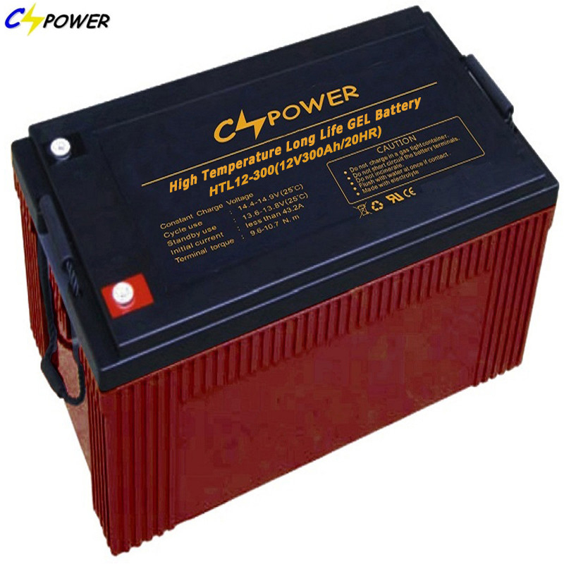 HTL12-300 12V 300ah High Performance Sealed VRLA Rechargeable Battery with Long Life span