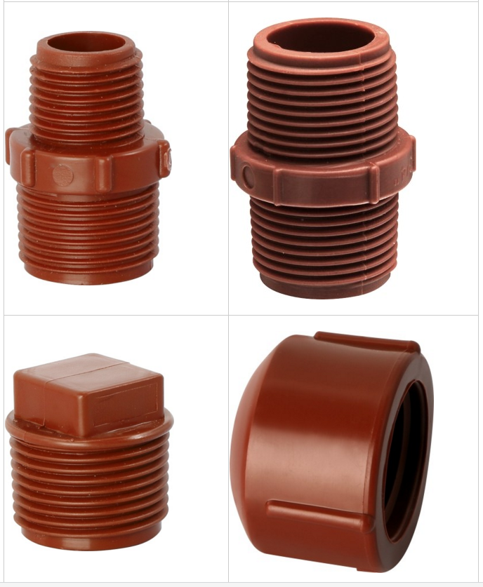 PPH polypropylene homeopolyper IPS/IRS Threaded PIPES and Fittings