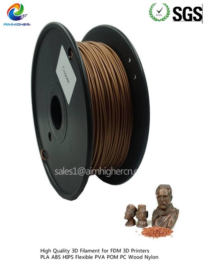 Copper 3d filament for Makerbot 3d printer