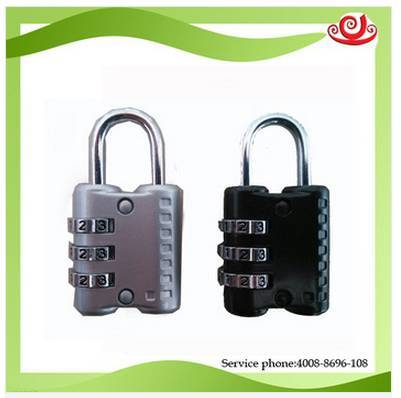 Tricases three digit cooper core lock