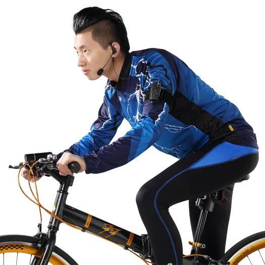 Climder C3X Bicycle Bluetooth Intercom Bt Interphone with FM
