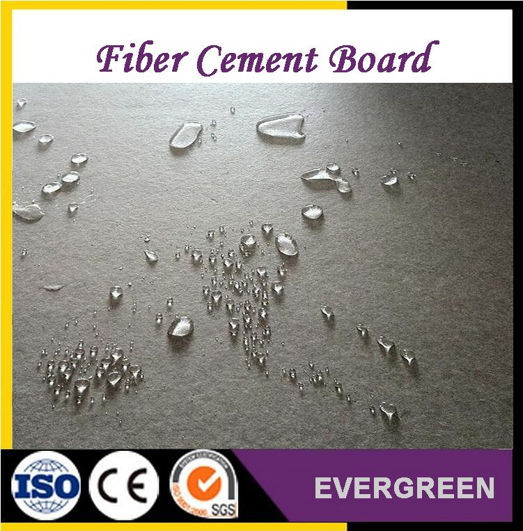 Waterproof fiber cement board