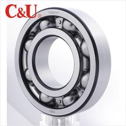 C&U high quality deep groove ball bearing