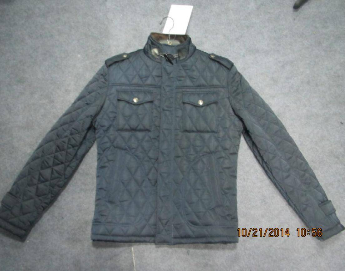 men's quilted padding jacket