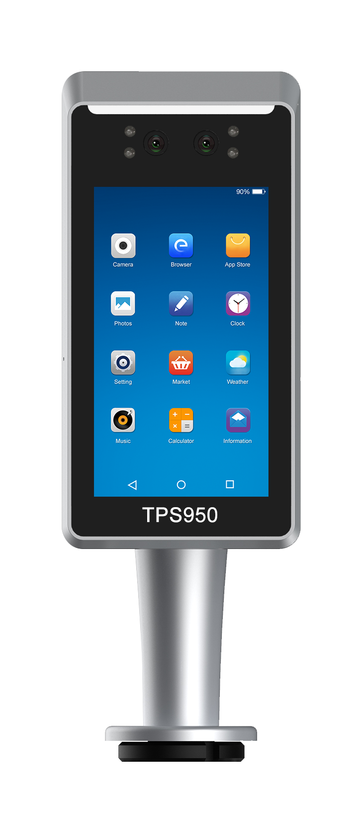 TPS980 Access Control Device with Temperature Testing Seneor Option