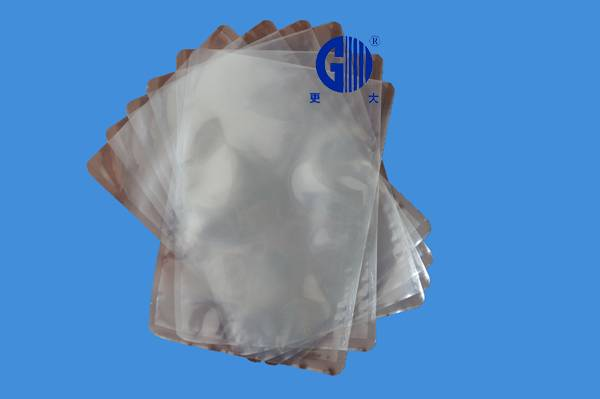 High barrier PVDC high temperature cooking baggs/retort pouch