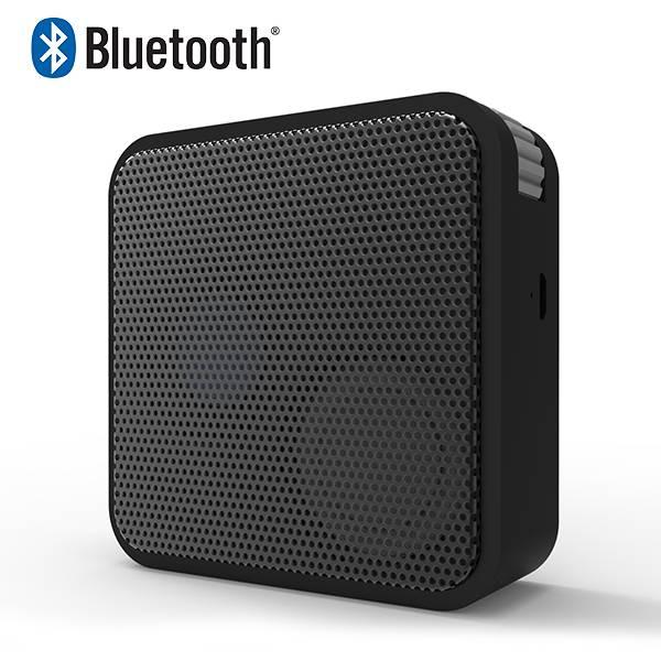 Unique Square shaped mini Bluetooth Speaker with FM radio Built-in Microphone