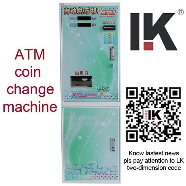 programmable coin bill change machine