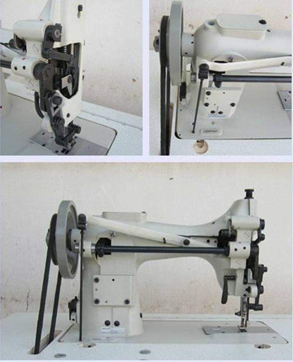 Keestar 253 flat bed walking foot canvas sewing machine