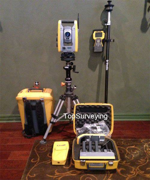 "Trimble S6 1"" Robotic Total Station with TSC2"