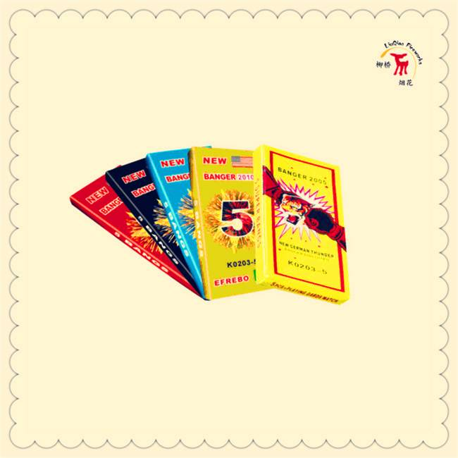3# Match Cracker( 5 Bangs)| K0203-5