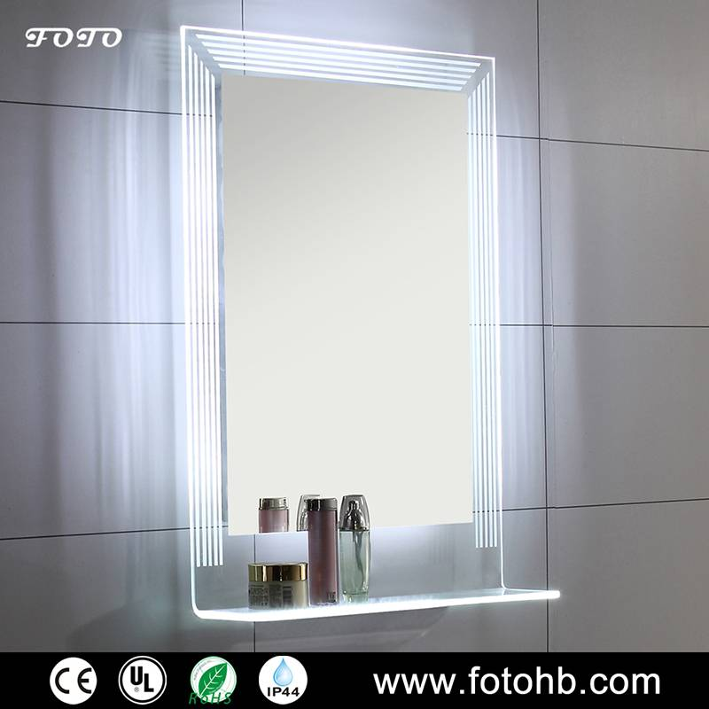 IP44 Lighted Bath Mirror with LED Illuminated