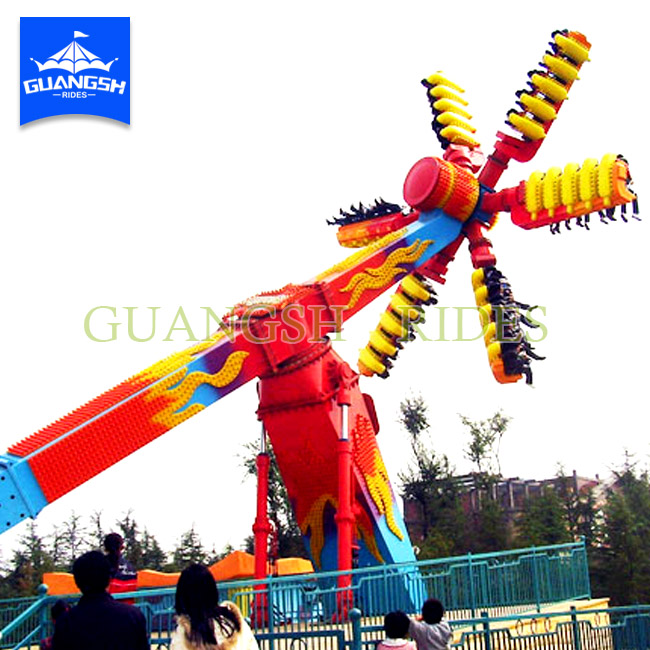 Extreme Amusement Park Rides China Speed Windmill Thrill Rides for Sale