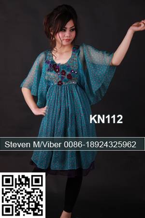 Latest Light Chiffon Captivate Short Kaftan Beach Dress for Malaysia