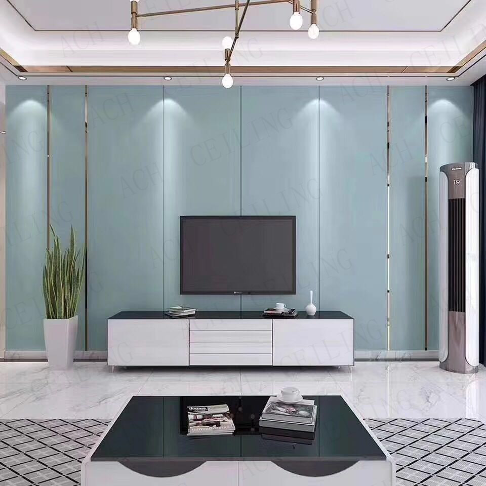 Customized Acoustic Fire Proof and Environment-Friendly Soft Wall Panel