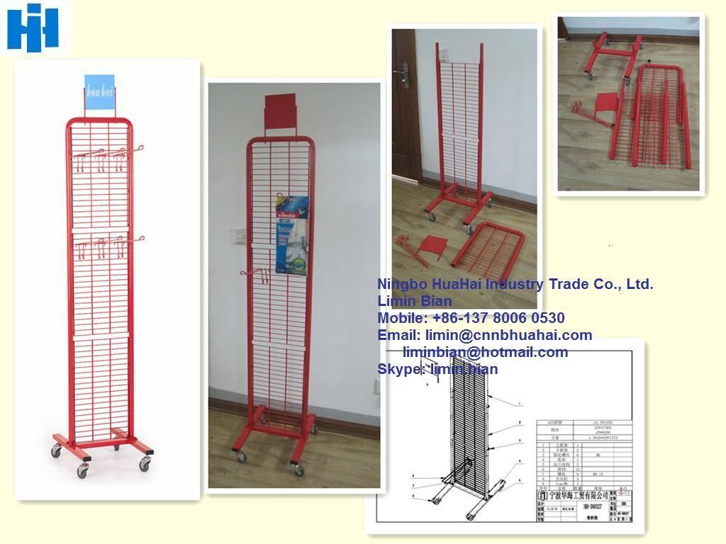 two-side modular display rack