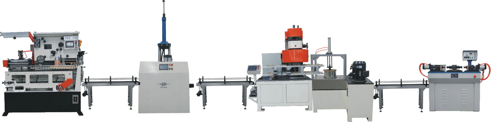SHFB-11 automatic tin can production line