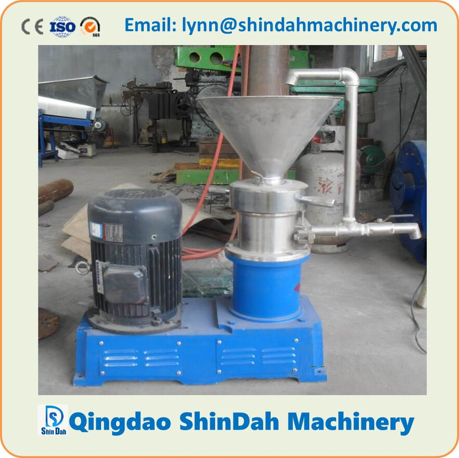 High Performance Stainless Steel Colloid Mill Food Colloid Mill Colloid Grinder Milling Machine