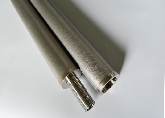 Benzene filters sintered porous 316L stainless steel filter cartridges elements